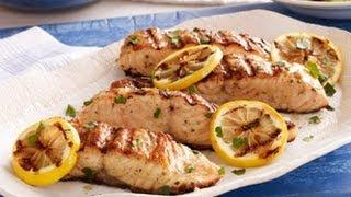 Grilled Mediterranean Salmon