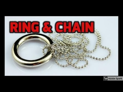 MAGIC TRICKS VIDEOS IN TAMIL #135 I RING & CHAIN @Magic Vijay