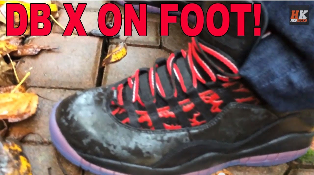 31cfb6cf99b8 On Foot Review  Air Jordan 10 (X) Doernbecher DB (Daniel Pena) - YouTube