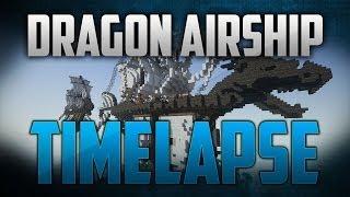 Minecraft Timelapse: Deagon Head Airship (Download)