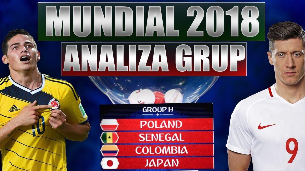 Grupa Polski Iiza Grup Mistrzostwa Swiata  Dobre Losowanie Kolumbia Senegal