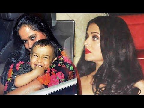 Salman की बहन और Aishwarya Rai पहुचे Karan Johar की Party पर