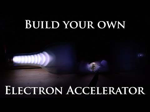 DIY Electron Accelerator - Cathode Ray Tube