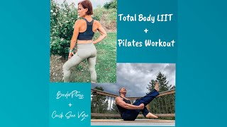 Total Body Low Impact Interval Workout + Pilates Core Strengthening: BenderFitness + Coach Vigue