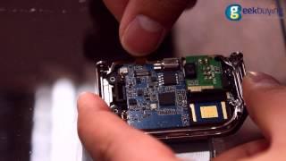 """NO.1 G2 MTK2502A 1.54"""" Sapphire Glass Touch Screen Bluetooth 4.0 Smart Watch Teardown Video"""