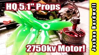 HQ 5 1 Series Props And RCINPower 2306 2750kv Motor