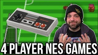 FUN NES GAMES for 4 Players! | RGT 85