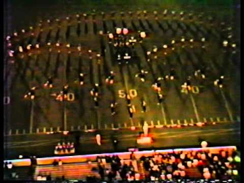 McCloud HIgh School Marchng Band fall of 1982