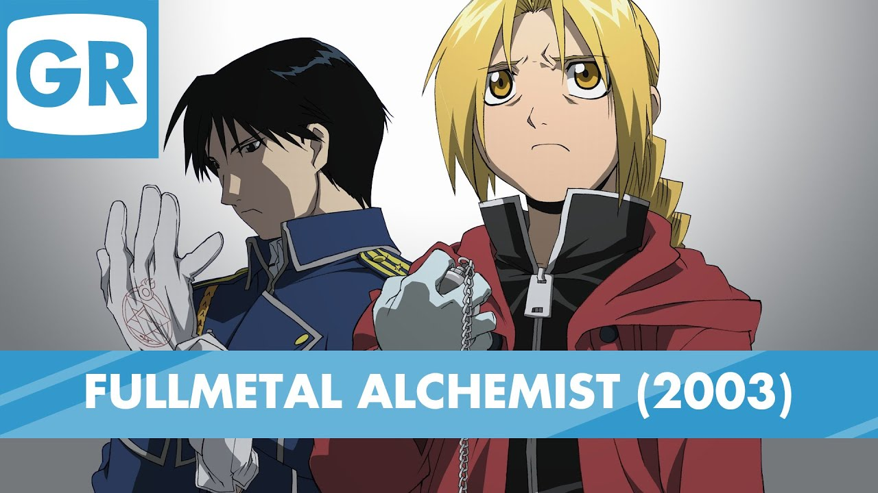 gr anime review fullmetal alchemist