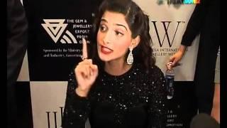 Sonam Kapoor at the India International Jewellery Week!