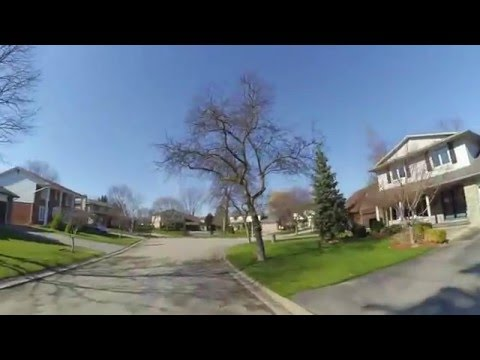 Our neighbourhood in London, Ontario.