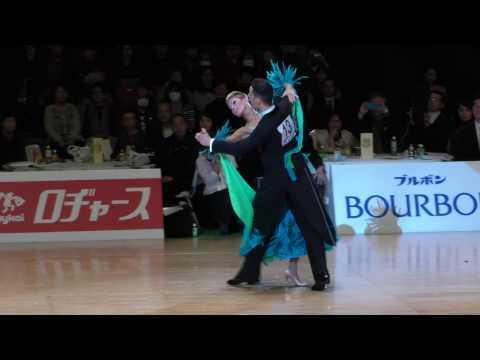 4K 2017 WDSF World Open Standard in Tokyo | Simone Segatori - Annette Sudol, GER | Final Solo WALTZ