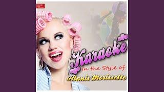 Ironic (In the Style of Alanis Morissette) (Karaoke Version)