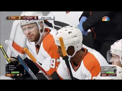 NHL 17 - Philadelphia Flyers vs Washington Capitals | Gameplay (HD) [1080p60FPS]