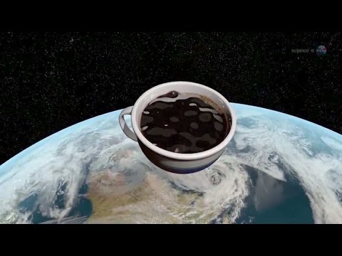 Zero Gravity Coffe Cup - Drinking Coffe in Space