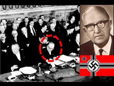 Walter HALLSTEIN, un NAZI, 1er Président de la Commission Européenne