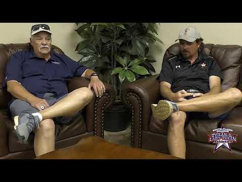 Erik Vance and Frank Barker talk 2019 New Mexico Junior College XC Invitational