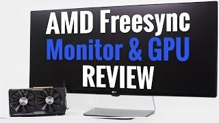 "AMD Freesync Review - Radeon R9 380 GPU & LG 34"" UltraWide Monitor"