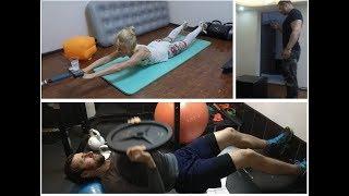 Как быстро похудеть. Как начать тренироваться. Отжимаемся больше! Часть 1/2