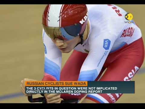 Russian Cyclists sue WADA