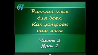 Русский язык для детей. Урок 2.2. Звуки звонкие и глухие