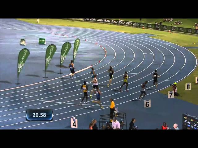 M200m (Geddes 20.59) - 2014 'Go For 2&5' Perth Track Classic