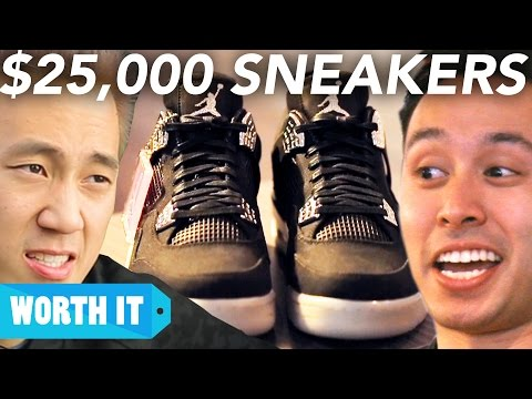Thumbnail: $100 Sneakers Vs. $25,000 Sneakers