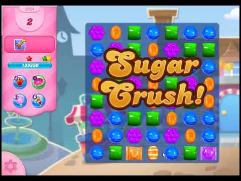 Candy Crush Saga Level 2964 - NO BOOSTERS