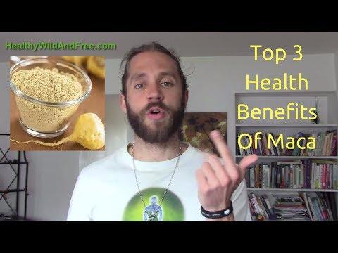 Top 3 Health Benefits Of Maca