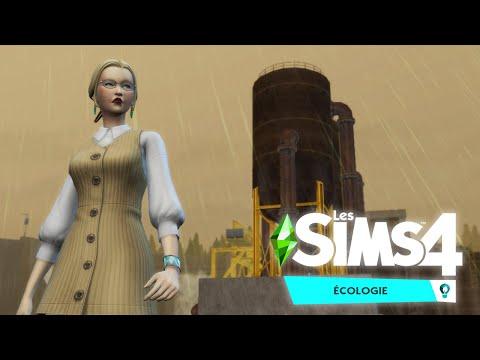 UNE SCIENTIFIQUE POUR NETTOYER LA VILLE ! Les Sims 4: Écologie - Let's Play découverte partie 1