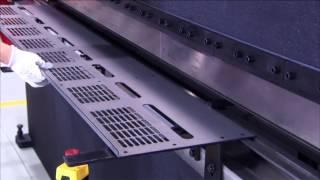 Гидравлический листогибочный пресс Nargesa MP3003(Экономичные листогибочные гидравлические прессы Nargesa (Испания) для гибки листового металла на 2300 и 3050 мм..., 2014-05-03T12:55:46.000Z)