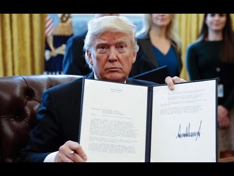 Trump Signs Government Scientist Gag Order