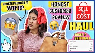 Testing Sell At Cost as an Indian Customer | PRICE & SHIPPING? ThatQuirkyMiss