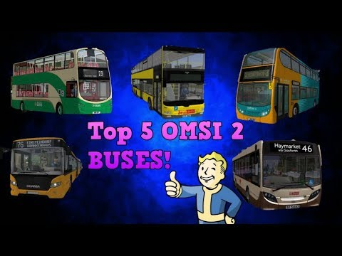 OMSI 2   TOP 5 COMMUNITY MADE BUSES!