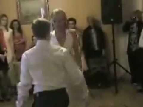 Чувственное свадебное танго