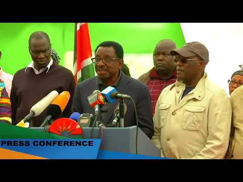 James Orengo REVEALS Why Raila isn't TALKING to the Media After He Lost the Elections.