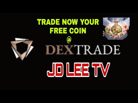 TRADE YOUR FREE COIN NOW AT DEX-TRADE EXCHANGE. (Another Plus Factor)