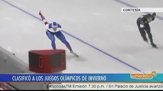 Pedro Causil, primer colombiano clasificado a unos Juegos Olímpicos de Invierno - Telemedellín