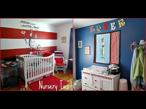 Nursery Tour Dr Seuss Theme