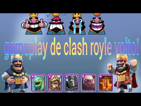 Gameplay de clash royle volto5