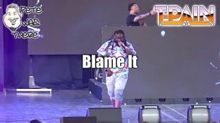 T-Pain - Blame It (Six Flags Fiesta Texas, San Antonio TX 08/30/2019) HD