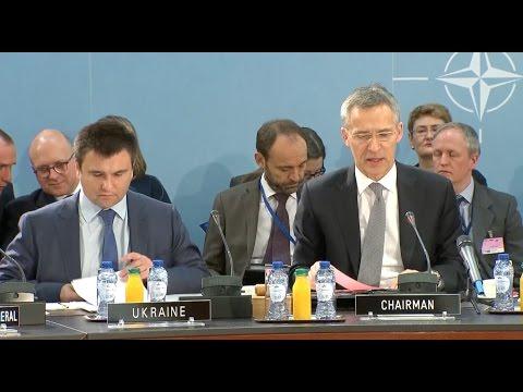 NATO Chief Reaffirms Diplomatic Solution to Ukraine Crisis
