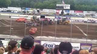 Monster Jam Stafford Motor Speedway,Stafford Springs,CT 2015 Sunday Freestyle Competition