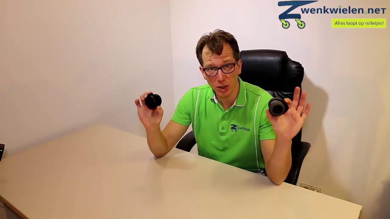 Wieltjes Bureaustoel Vervangen.Bureaustoel Wielen Monteren Vervangen Instructie Video Youtube
