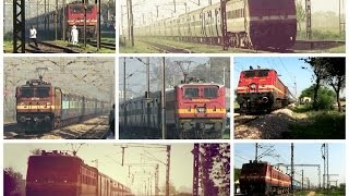 19 In 1 : INDIAN RAILWAYS : HIGH SPEED COMPILATION DEDICATED TO MOST RELIABLE LOCOMOTIVE : WAP-4