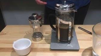 Kunnon kahvia kotikeittiössä. Jakso 6: Pressopannu, French Press