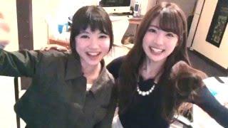 """志田友美(夢アド)と新井ひとみ(東京女子流)による""""夢みるアドレセン..."""