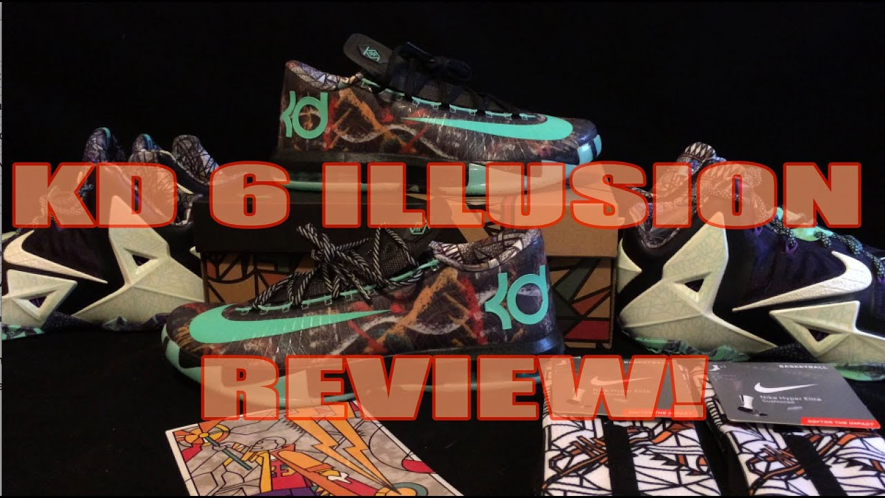 6df5216c51ce Nike KD VI  Illusion  AS (All Star) Nola Gumbo Pack Review - YouTube