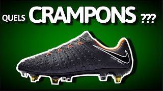 Comment choisir ses CRAMPONS ?  [GUIDE] football