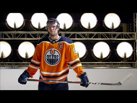 This is the stick of choice for McDavid